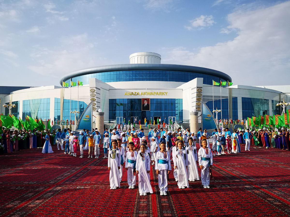 Аквапарк в ашхабаде фото