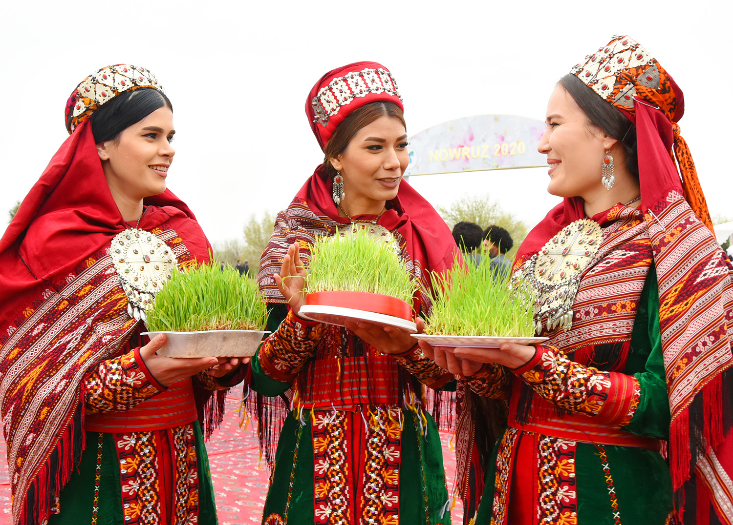 Photoreport: International holiday Navruz is widely celebrated in  Turkmenistan   Culture