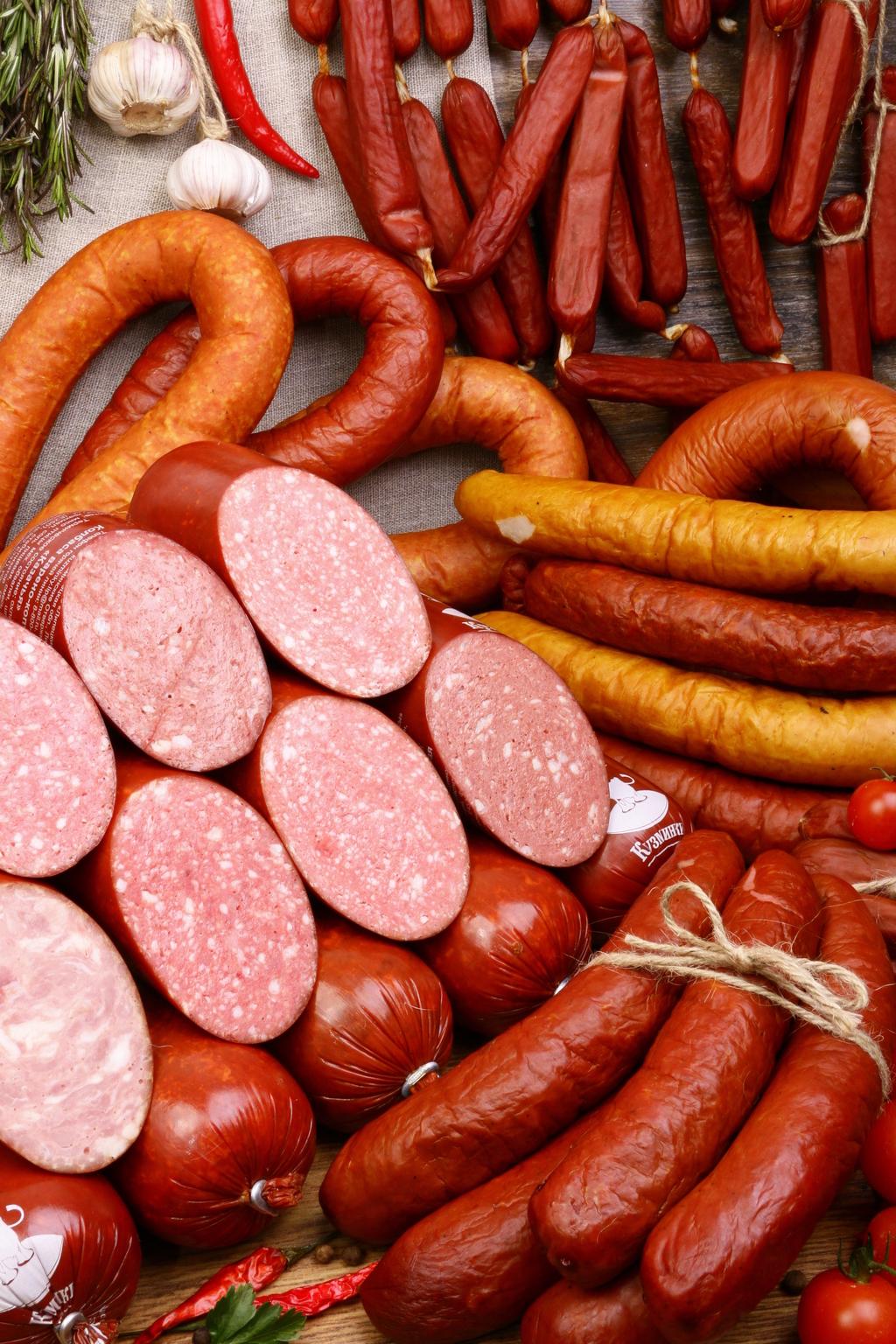 Фото где много колбасы