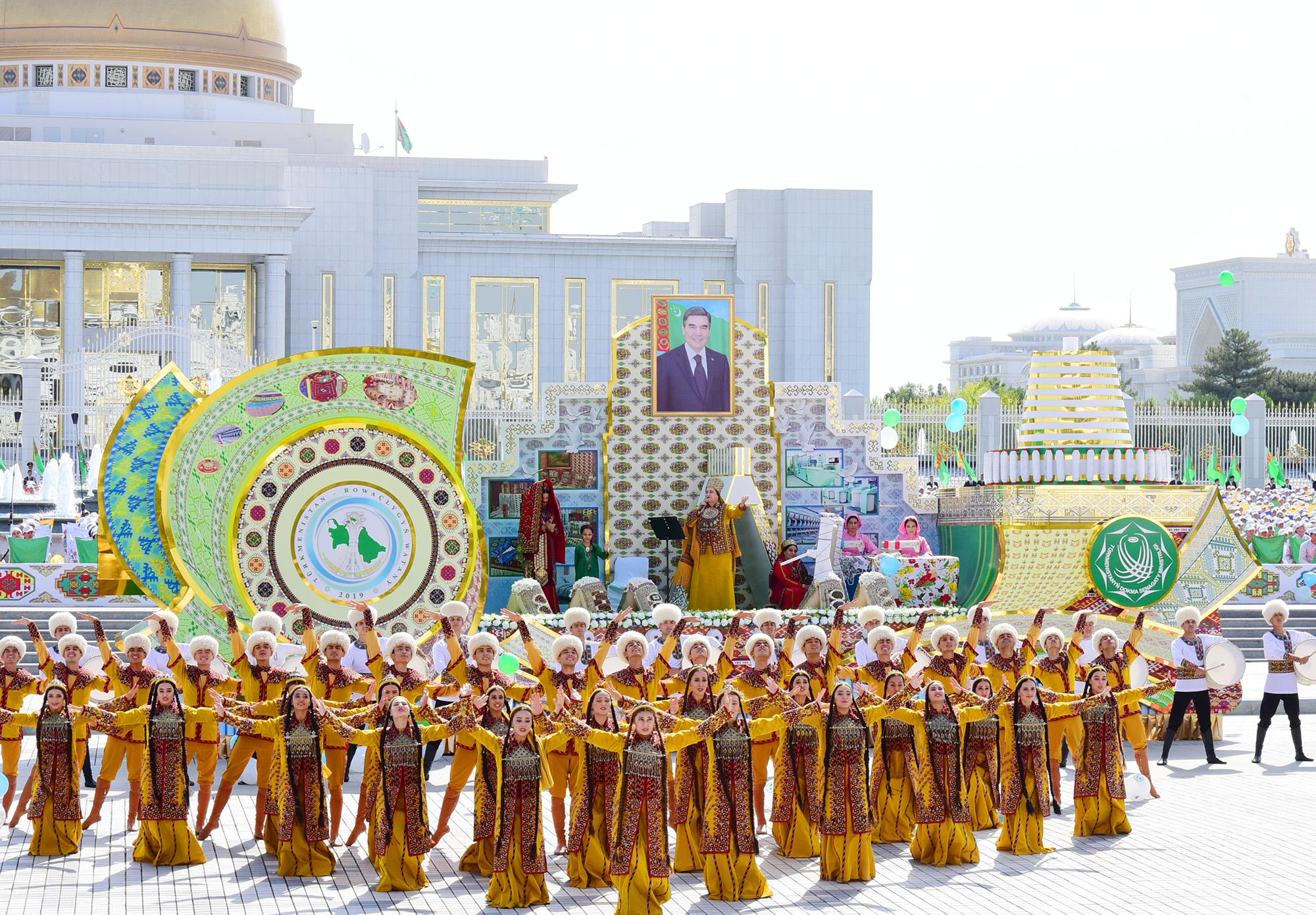 открытки день независимости туркменистана украшения