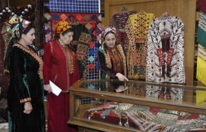 Exhibition dedicated to International Women's Day at the State Museum of Turkmenistan