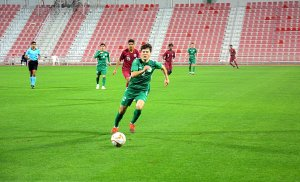 Qatar national under-23 football team escapes defeat in a friendly match against Turkmenistan