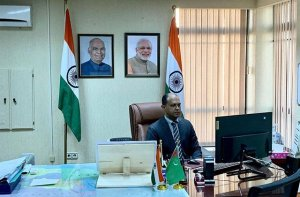 Indian Ambassador met online with rectors of Turkmen universities