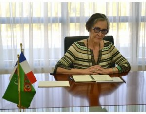 The new Ambassador of France started to work in Turkmenistan
