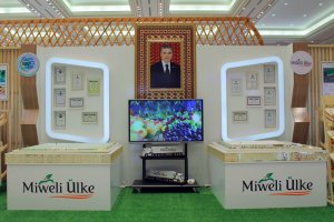 President of Kyrgyzstan is interested in export products Miweli ülke