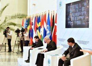 Türkmenistanyň DIM-inde metbugat maslahaty geçirildi