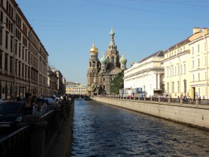 For the Turkmen students of higher educational institutions of Saint-Petersburg excursions