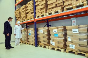 UNICEF donated equipment for the prevention of infections to the Ministry of Healthcare of Turkmenistan