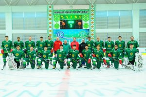 Turkmenistan's national ice hockey team was invited to the 2021 Universiade in Switzerland