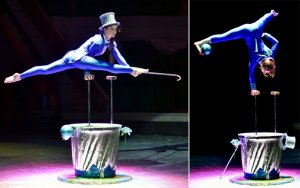 Ashgabat circus opened the season with a new program