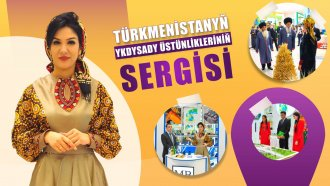 Exhibition of Economic Achievements of Turkmenistan opened in Ashgabat (video)