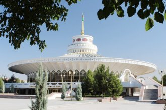 State Circus of Turkmenistan presents show