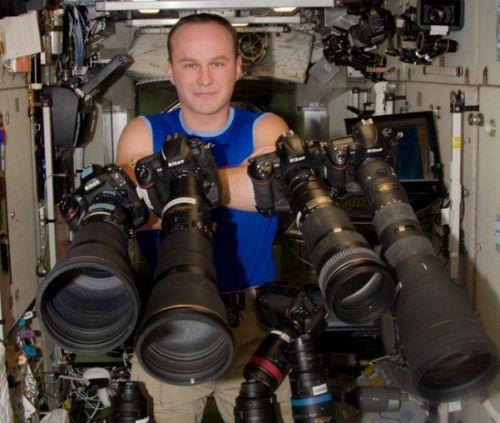 Русский космонавт сфотографировал Новосибирск сборта космической станции